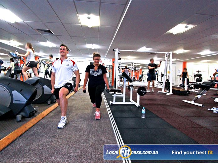 Macquarie University Sport & Aquatic Centre North Epping Gym Fitness World class strength sport