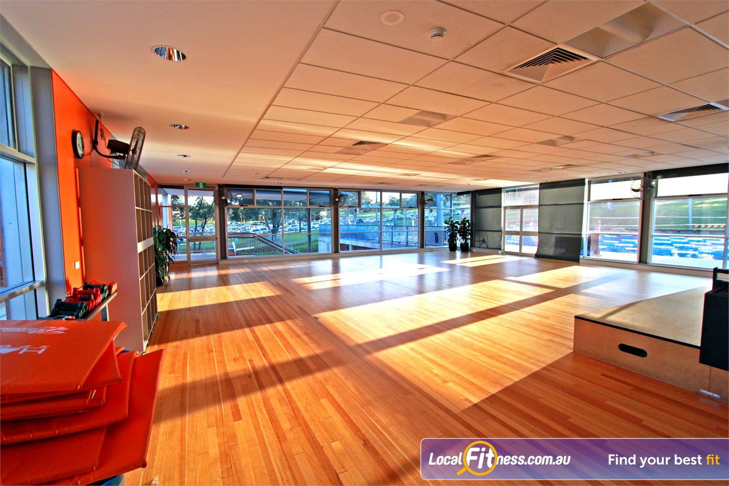 Macquarie University Sport & Aquatic Centre Near North Ryde Join in on your favourite Macquarie Park Yoga, Pilates and Zumba classes.