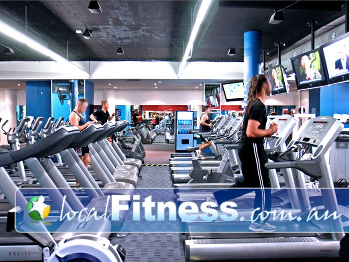 Fitness First Toorak Gym Fitness The signature cardio theatre