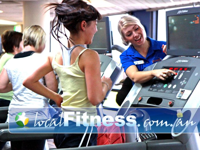 Goodlife Health Clubs Near Palmyra Melville personal trainers can tailor weight-loss and ladies specific programs.