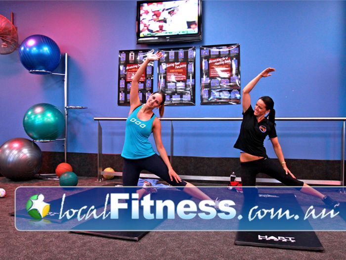 Goodlife Health Clubs Melville Melville personal trainers can help you with your stretching routine.