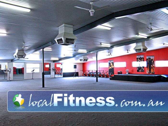 Goodlife Health Clubs Melville The dedicated and spacious Melville group fitness studio.