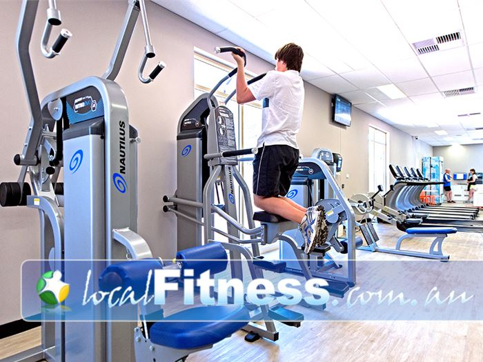 Genesis Fitness Clubs Gym Kelmscott  | The spacious 24 hour gym environment in Byford.
