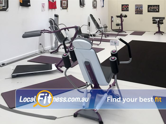 Curves Gym Rowville  | The famous Rowville Curves circuit with hydraulic resistance