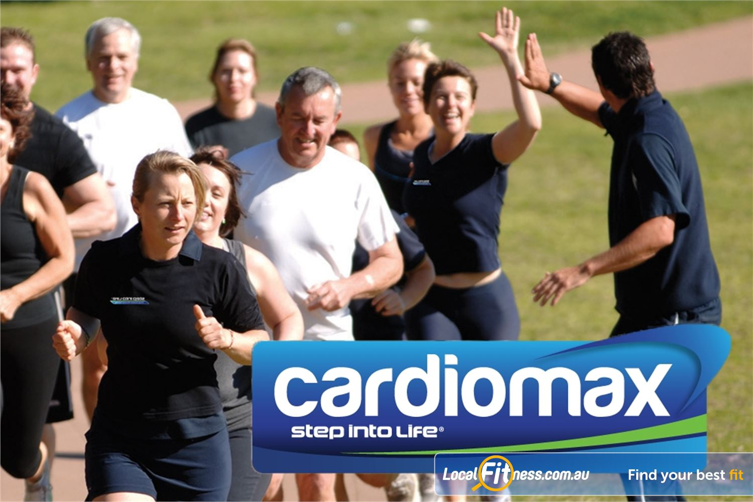 Step into Life Graceville Step into Life Graceville provides cardiomax for building maximum fitness.