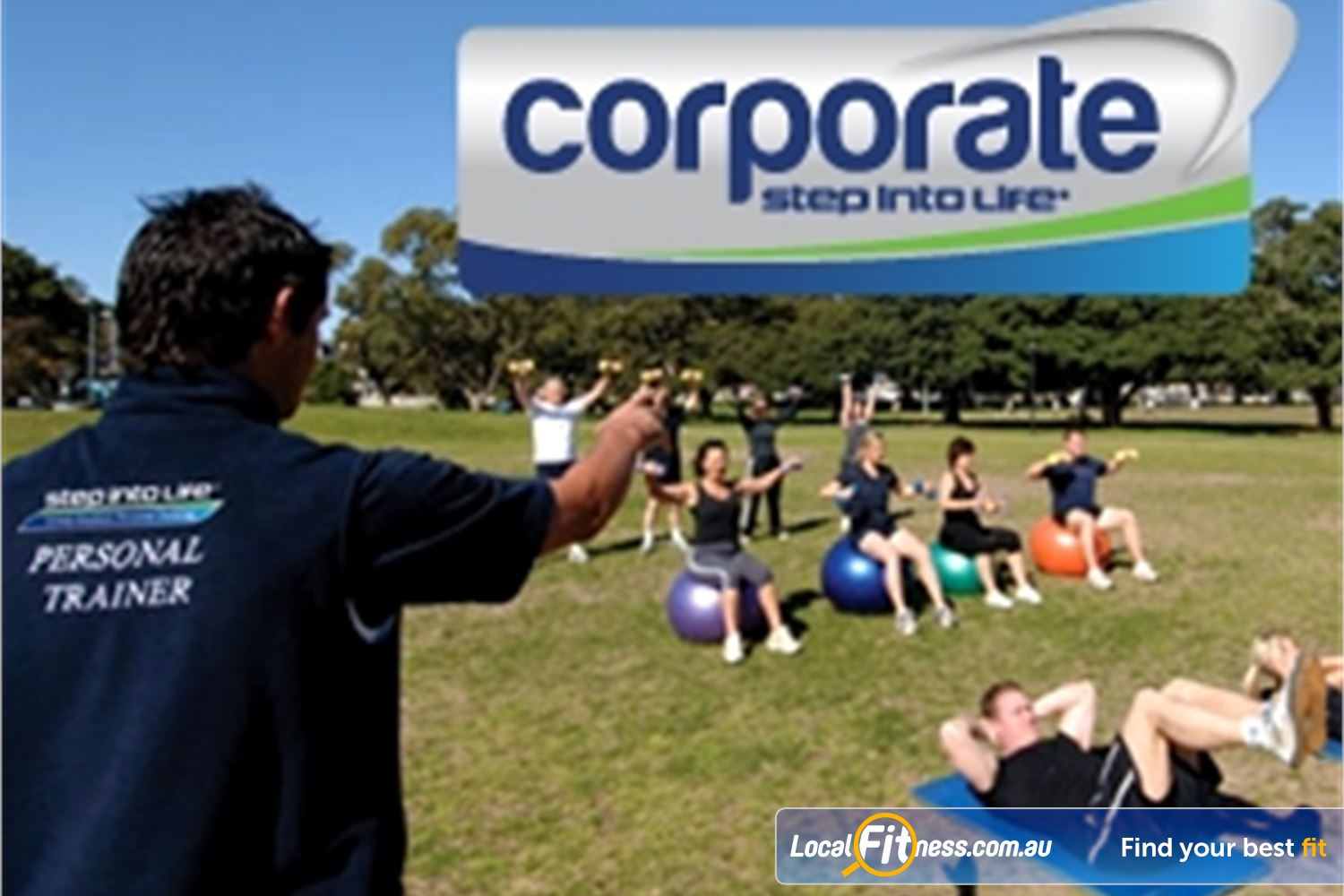 Step into Life Near Yeerongpilly We provide Graceville corporate fitness programs to help businesses stay healthy.