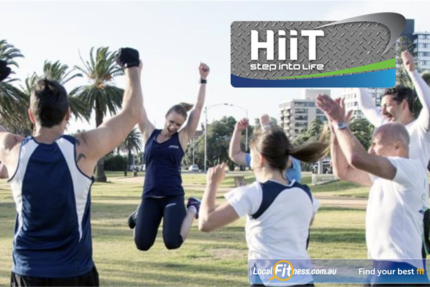 Step into Life Graceville Our Graceville HIIT sessions are exciting and energising.