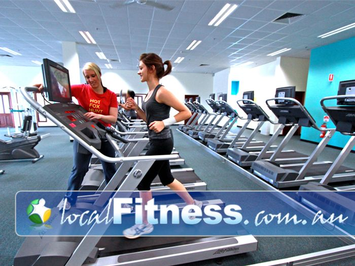 Fernwood Fitness Wetherill Park Fernwood Wetherill Park gym instructors can help you with cardio and weight management.