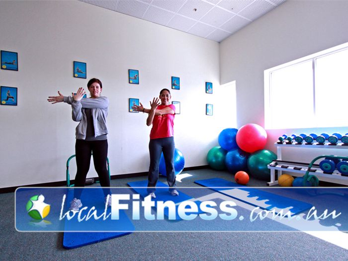 Fernwood Fitness Near Greenfield Park Enjoy a stretching program designed by Fernwood Wetherill Park personal trainers.
