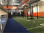 Fit n Fast Vermont South Gym Fitness Indoor sled track, astro-turf,