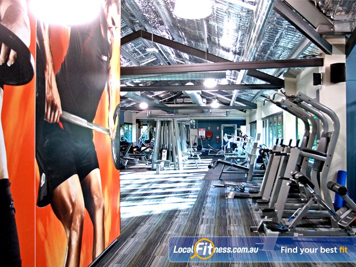 Goodlife Health Clubs Gym Mermaid Waters    A wide range of strength equipment from Nautilus.
