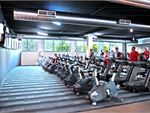 Goodlife Health Clubs Nerang Gym Fitness Rows of equipment means you'll