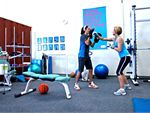 Fernwood Fitness Nathan Gym Fitness Fully equipped with dumbbells,