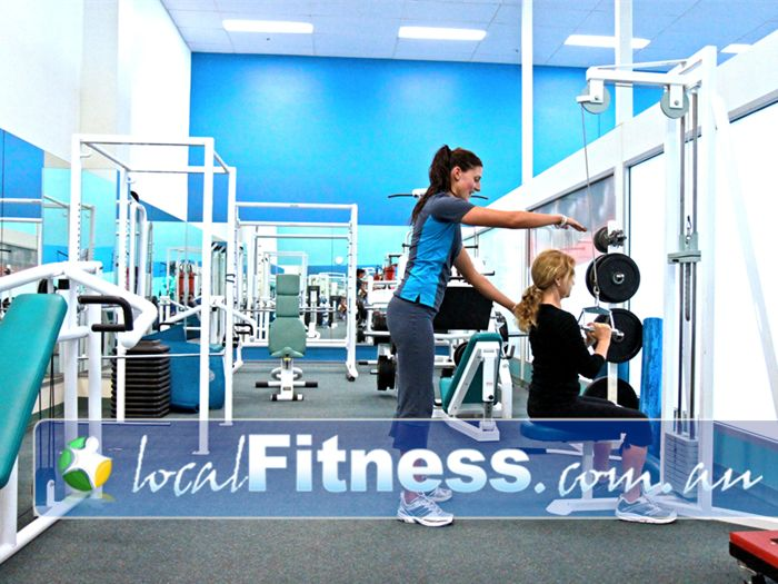 Fernwood Fitness Near Eight Mile Plains Fernwood Sunnybank gym instructors can help you progress with your strength training.