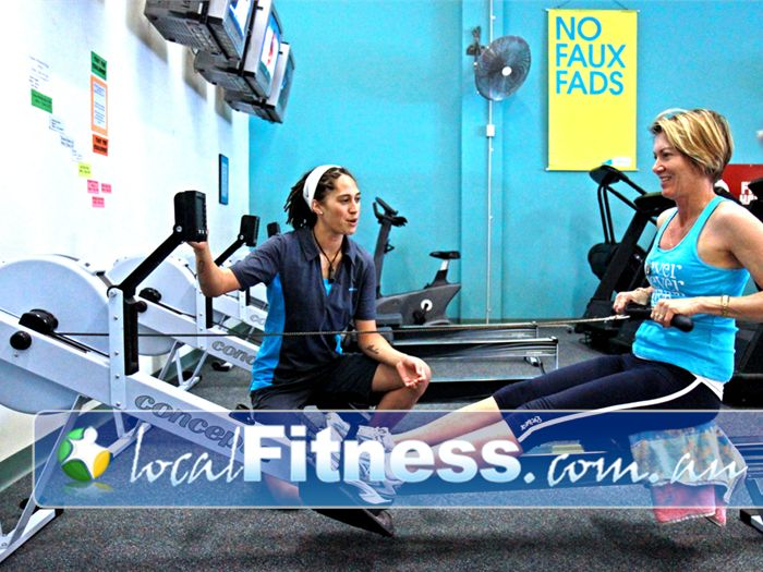 Fernwood Fitness Sunnybank Vary your workout with our HUGE range of cardio, including indoor rowing in Sunnybank.