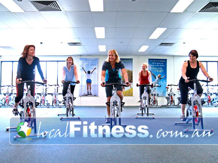 Fernwood Fitness Near Eight Mile Plains Music to encourage you to get moving during Sunnybank spin cycle classes.