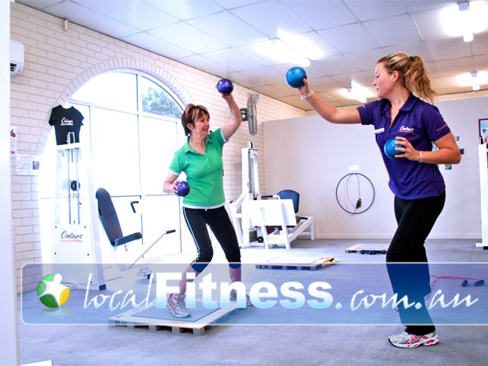 Contours Mount Waverley Small and intimate weight-loss gym for ladies.