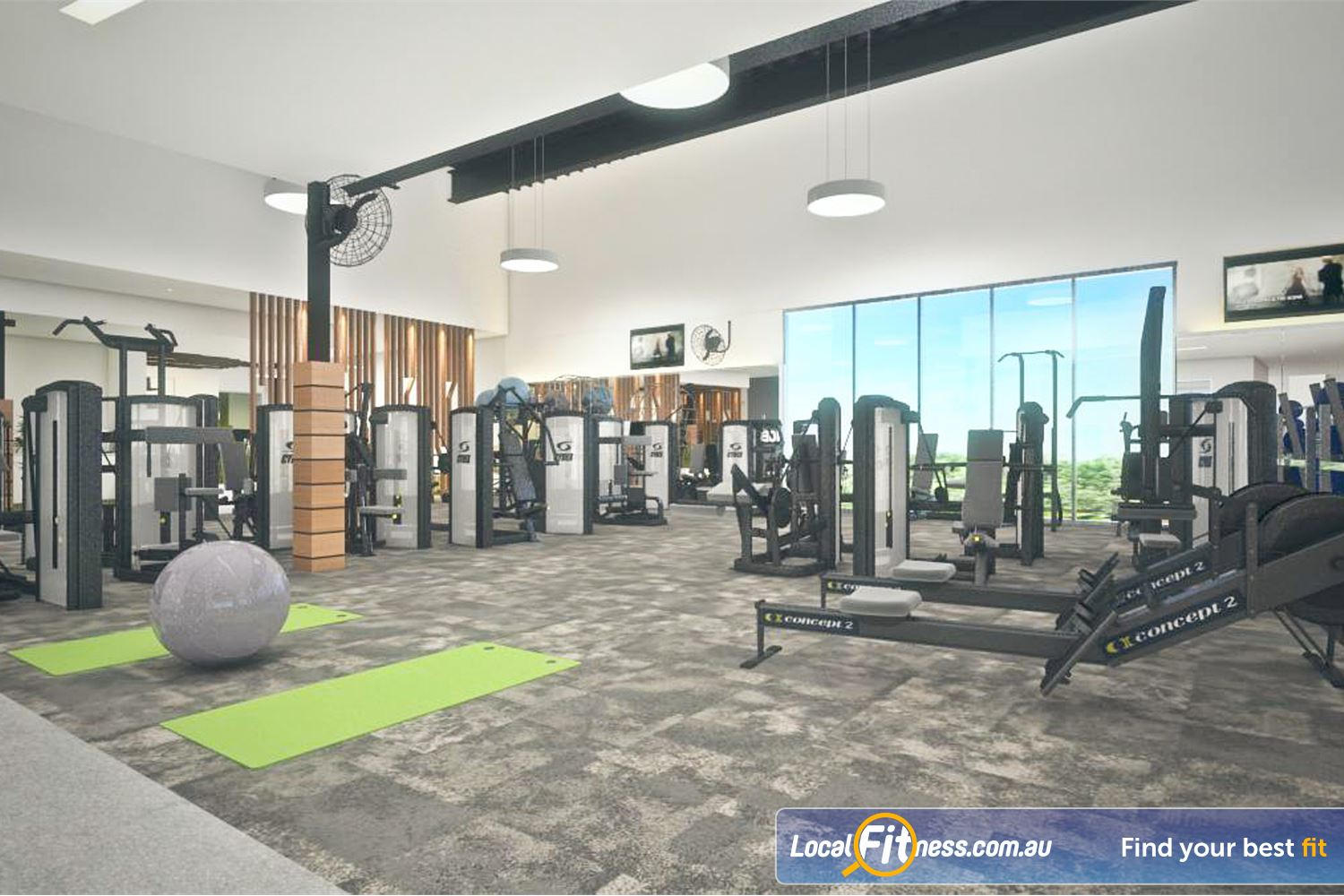 Goodlife Health Clubs Success Welcome to the new 24 hour Success gym.