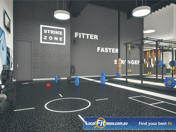 Goodlife Health Clubs Gym Myaree  | The spacious functional training zone.