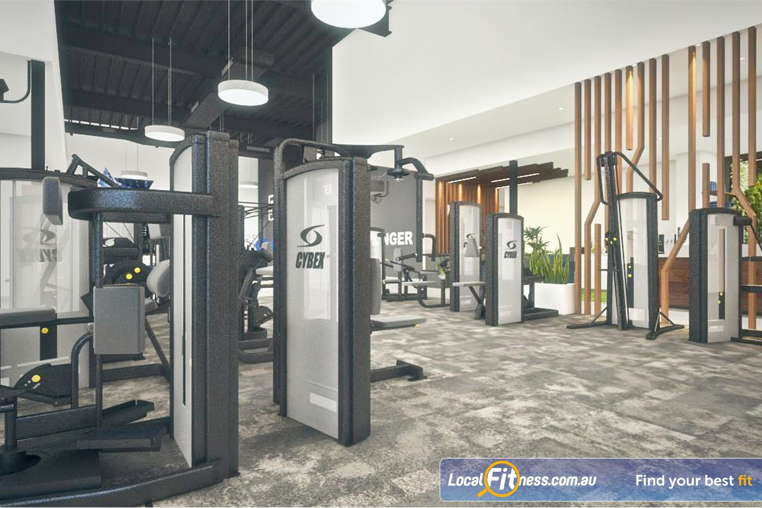 Goodlife Health Clubs Success State of the art equipment from Cybex.
