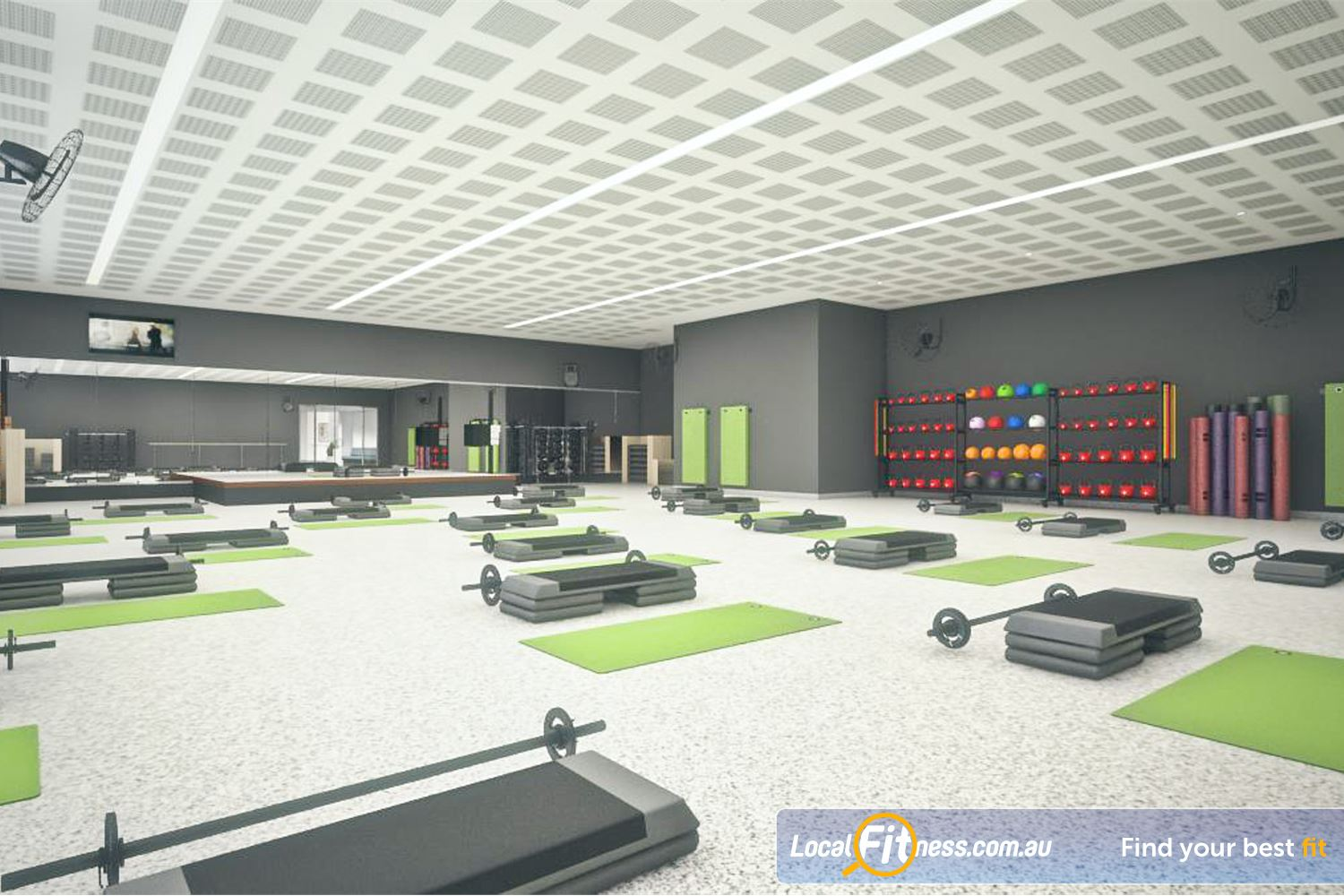 Goodlife Health Clubs Success Over 55 group fitness classes per week.