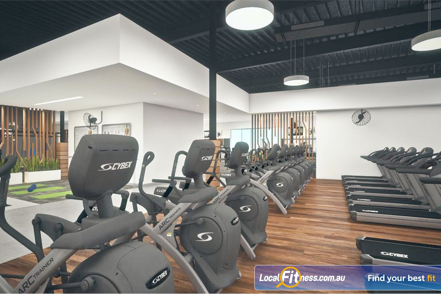 Goodlife Health Clubs Success Enjoy cardio 24 hours per day.