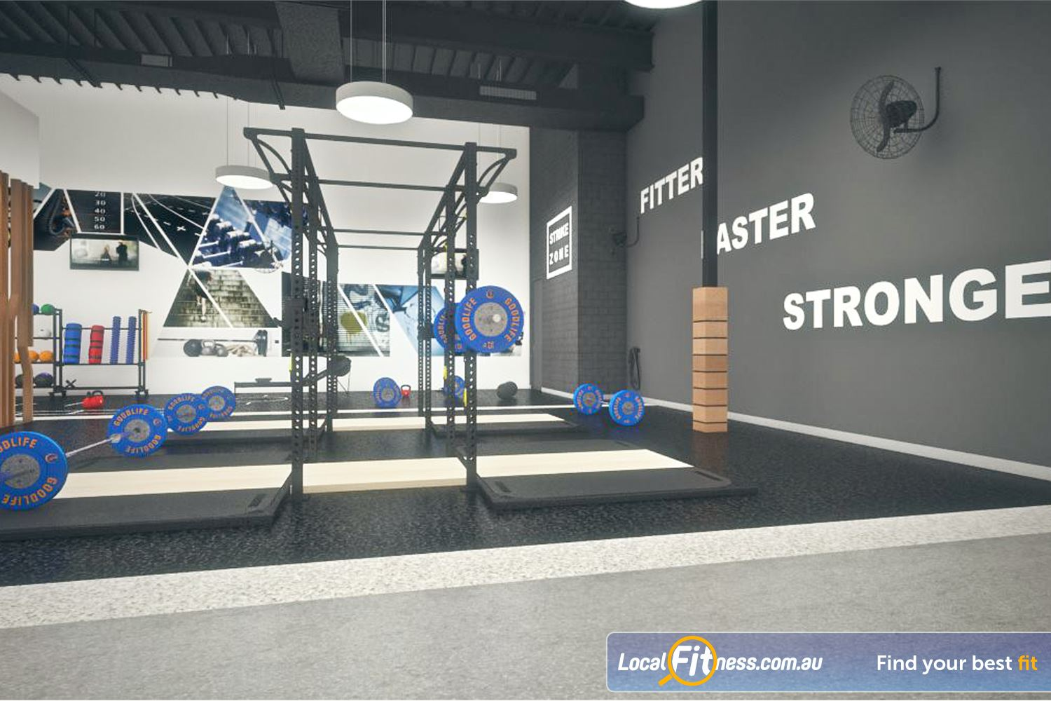 Goodlife Health Clubs Near Yangebup At our Success gym, pick from a large selection of heavy duty squat racks.