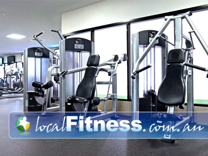 Goodlife Health Clubs Booval Our Booval gym uses state of the art Life Fitness equipment.