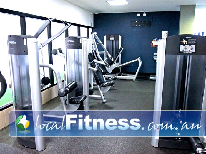 Goodlife Health Clubs Near Silkstone A complete range of easy to use strength training equipment.