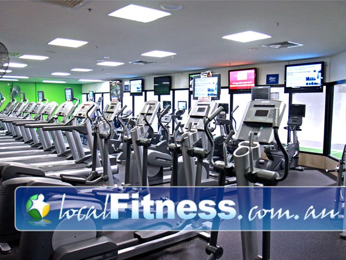 Goodlife Health Clubs Booval Tune into your favorite shows in our cardio theatre.