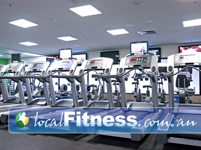 Goodlife Health Clubs Booval Goodlife Booval gym provides multiple machines so you don't have to wait.