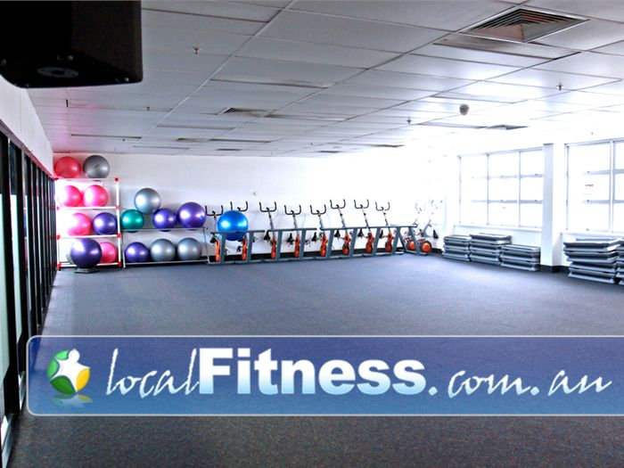 Goodlife Health Clubs Near Silkstone Popular Booval group fitness classes including cycle, Pilates and boxing.
