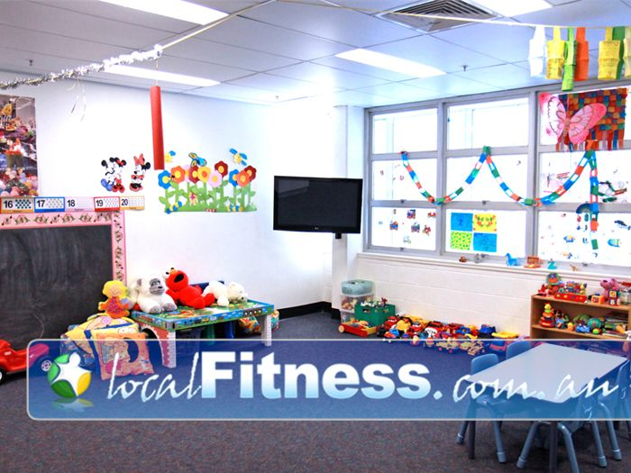 Goodlife Health Clubs Near Newtown Goodlife Booval provides on-site child minding services.