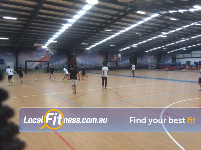 Leisure City Gym Fawkner  | We cater a range of sports on our