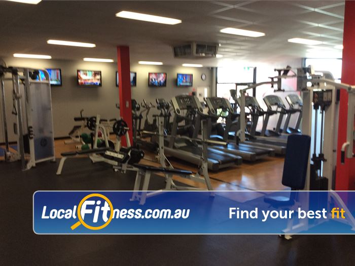 Leisure City Epping Our Epping gym includes a state of the art cardio theatre.