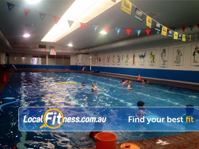 Leisure City Epping Our Epping swimming pool for our swim school program.