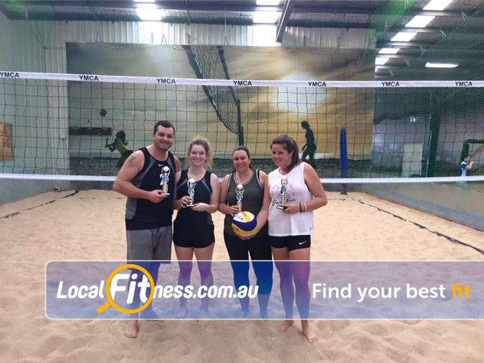 Leisure City Near Mill Park Our beautiful indoor Epping beach volley ball court.