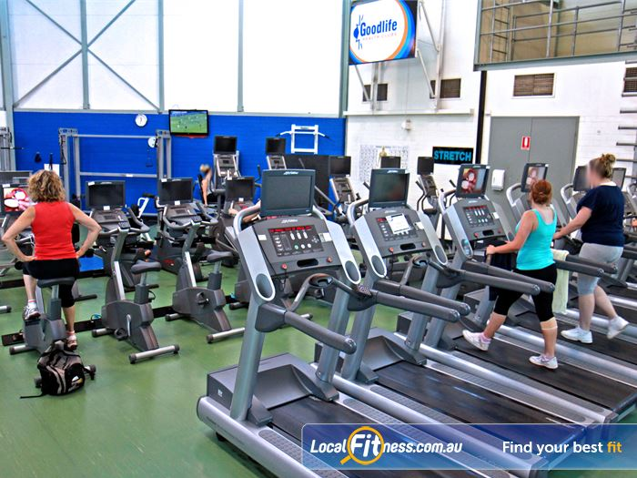 Goodlife Health Clubs Royal Park Gym Fitness Tune into your favourite shows