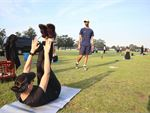 Reside in Movement Group outdoor fitness training in