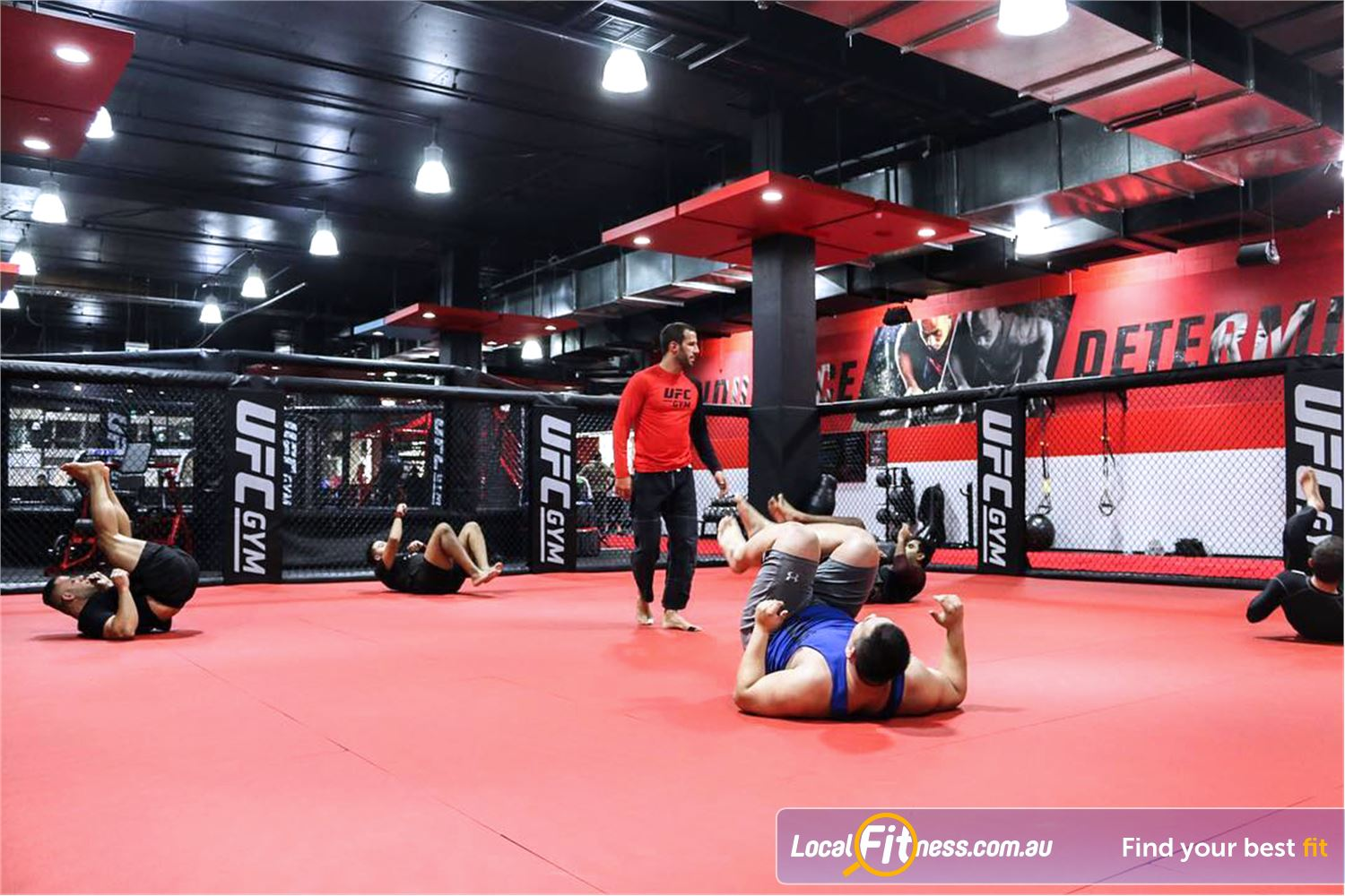 UFC Gym Near Marayong #traindifferent and learn the winning mentality of UFC to reach your goals.