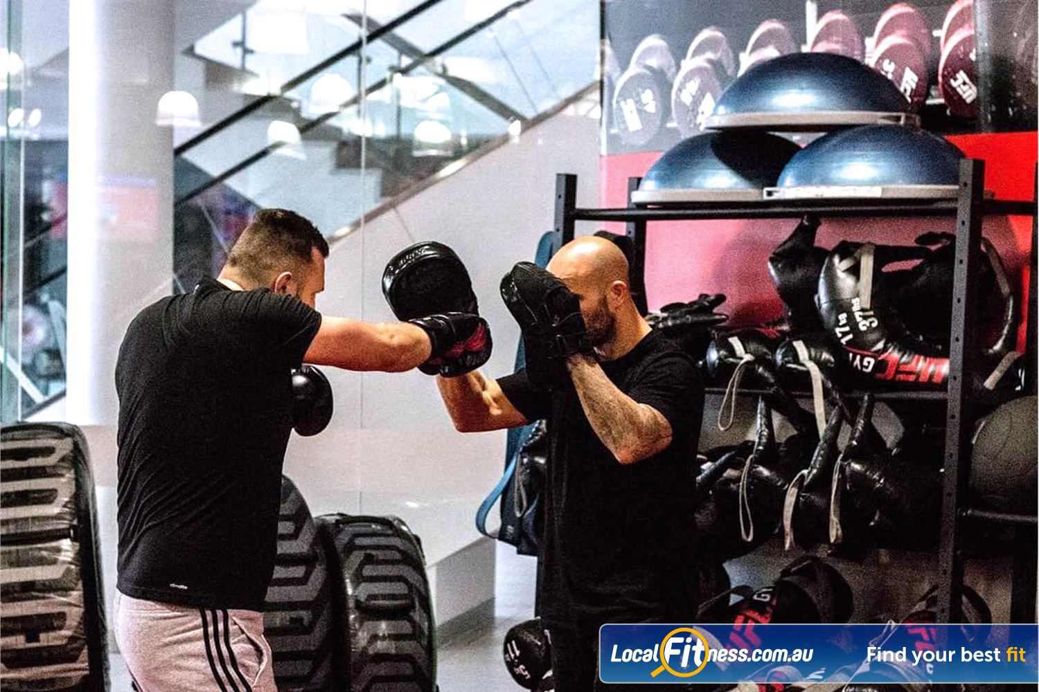 UFC Gym Blacktown Blacktown personal training is a great way to refine your boxing skills.