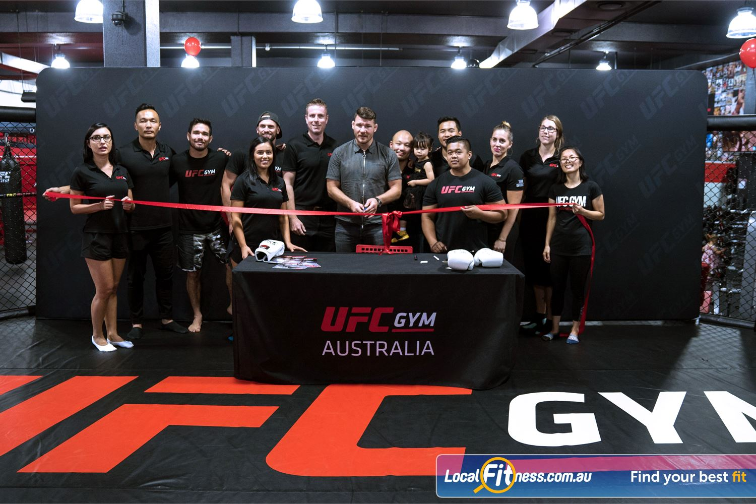 UFC Gym Near Marayong UFC GYM Blacktown has officially opened for the wider community in 2017.