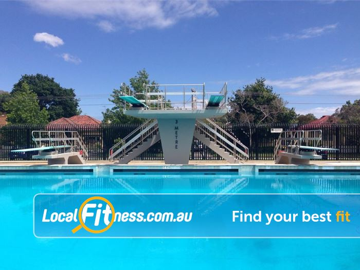 Caulfield Recreation Centre Caulfield South Gym Fitness 1m and 3m diving boards at the