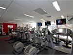 Enjoy personal entertainment screens on our cardio.