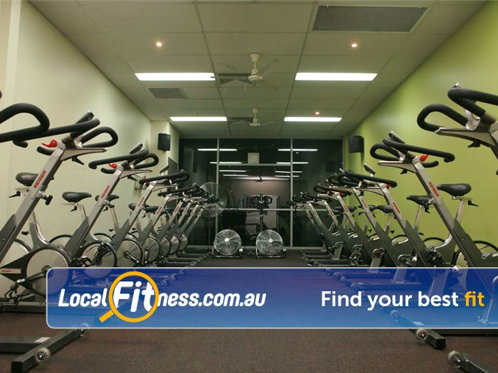 Equilibrium Health & Fitness 24 Hour Gym Rosanna    Enjoy a community atmosphere with our Doncaster spin