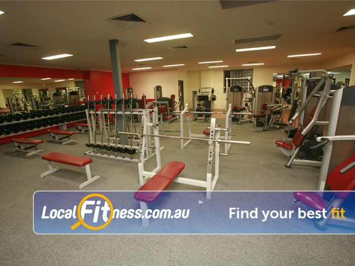 Equilibrium Health & Fitness Blackburn Gym Fitness The spacious East Doncaster gym