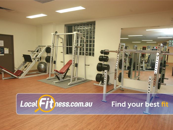 Equilibrium Health & Fitness Doncaster East Gym Fitness Squat Racks, smith machine,