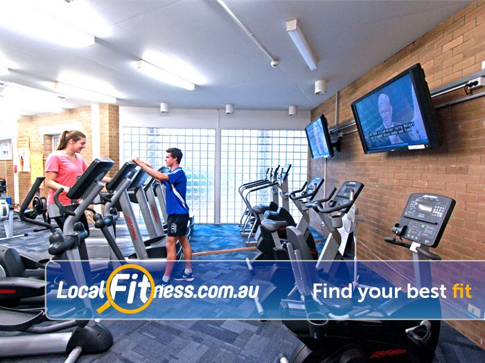 Waurn Ponds Fitness Centre Gym Geelong  | The cardio area in our Waurn Ponds gym.