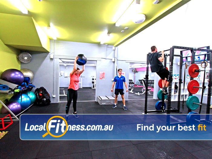 Waurn Ponds Fitness Centre Gym Geelong  | The dedicated functional training space.