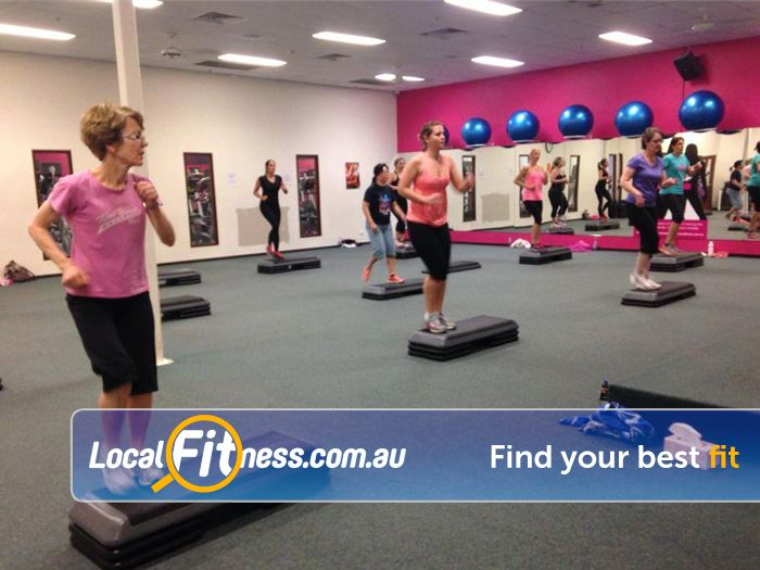 Fernwood Fitness Gym Meadowbank  | High energy classes inc. North Rocks Zumba, Les